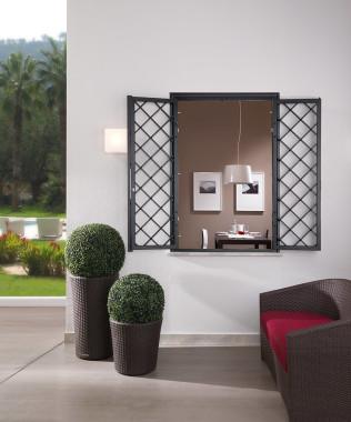 Grate e cancelli estensibili omniaserramenti a pisa cascina omniaserramenti - Inferriate estensibili per finestre ...