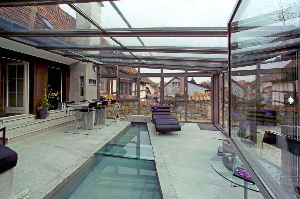 Verande e giardini dinverno in alluminio Tender Sunroom - OMNIA
