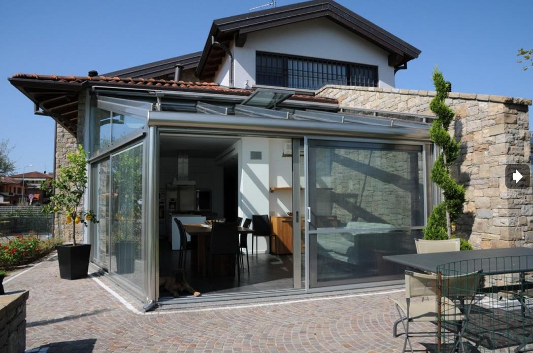 Verande E Giardini D Inverno Sunroom : Verande e giardini d inverno in alluminio omniaserramenti