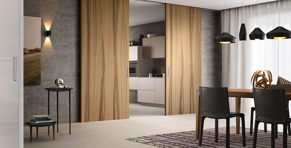 Porte Ferrero legno - OMNIA Serramenti
