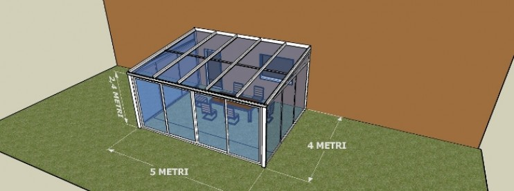 Quanto costa una veranda sunroom tender omnia for Quanto costa costruire un garage