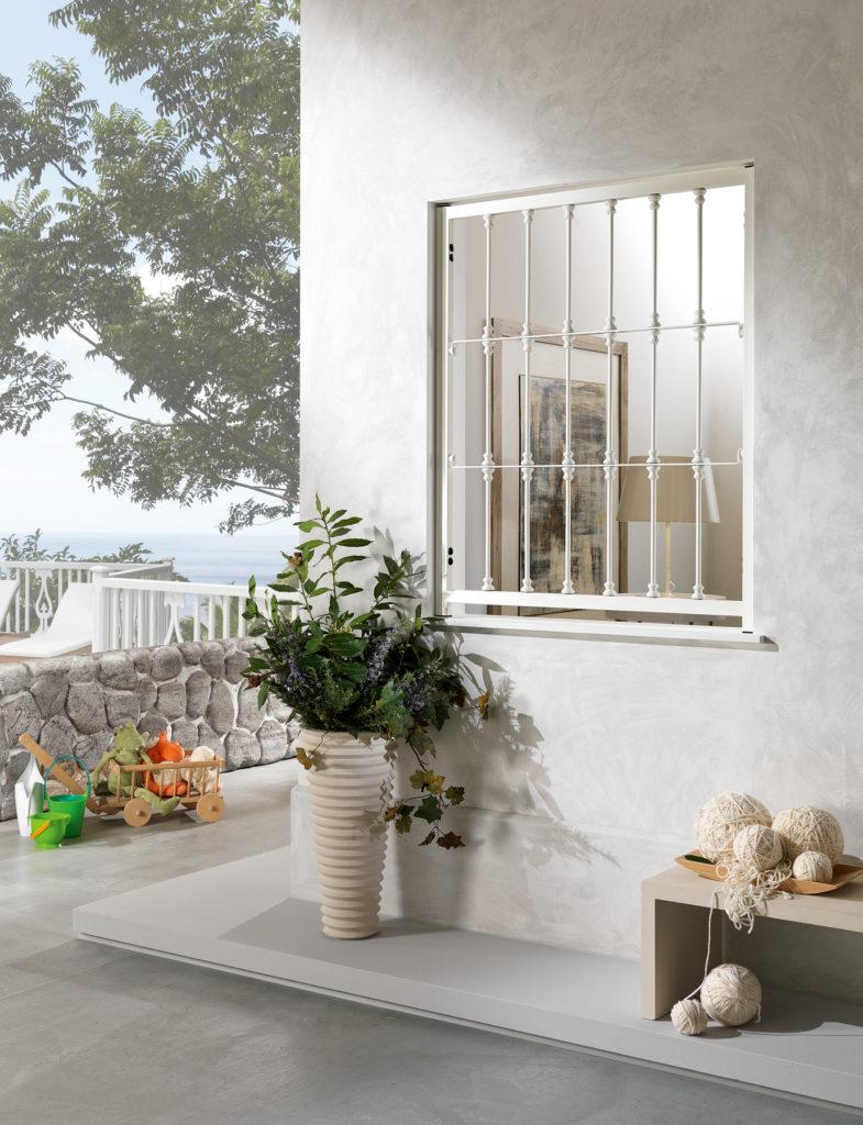 Sicurezza per la casa grate ed inferriate bonus fiscale del 50 omnia - Protezioni per finestre ...