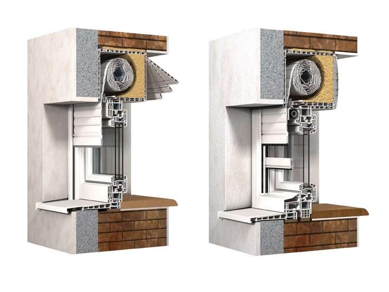 Finstral miniblocco finestre in pvc con avvolgibile integrato for Prezzi pvc finestre