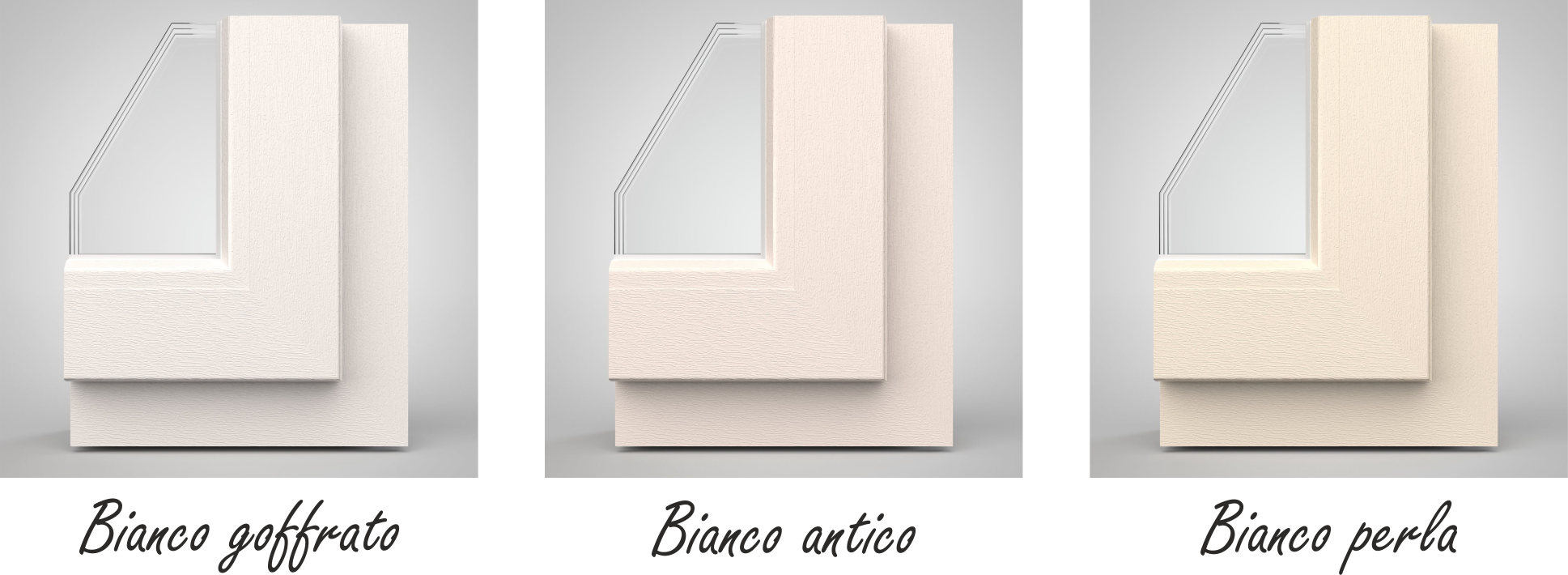 Porte e finestre in pvc Finstral: colori e superfici News di prodotto